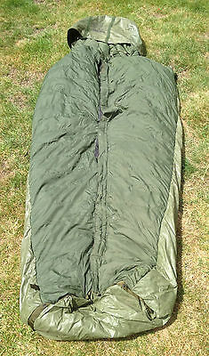 British army 1958 pattern down filled sleeping bag, size normal