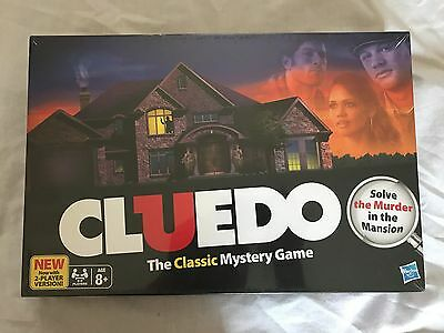 Cluedo The Classic Mystery Board Game brand new in box and sealed