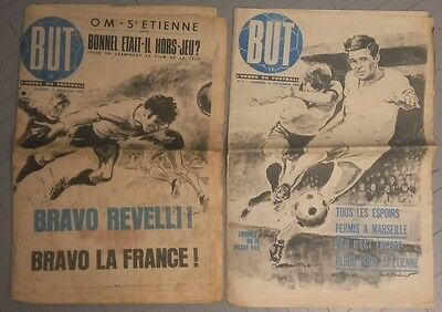 But l'hebdo du football n1 et 2. Septembre 1969