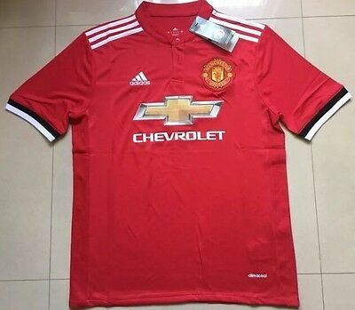Manchester United Home Shirt BNWT XL Man Utd NEW 17/18 REPLICA