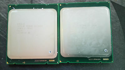 Matched pair Xeon 2x e5-2660 - 8 core 16 threads 2,2 GHz socket LGA2011