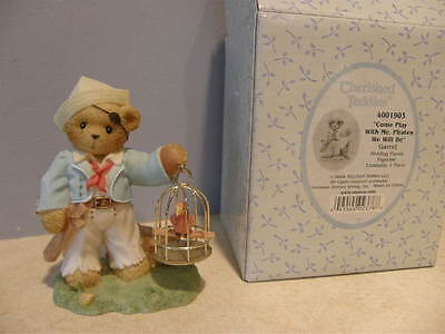 Cherished Teddies GARRET 4001903 COME PLAY WITH ME, PIRATES WE WILL BE    NEW