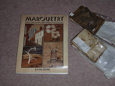 Marquetry Book and veneers