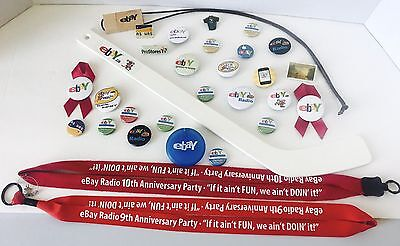 eBay 30 collectible Items from  eBay Radio and eBay Live Events