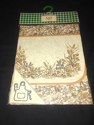Vintage St Michaels Cooking Apron Brand New In Packaging BBQ*Chef*Baking*Cook