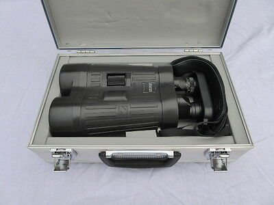 ZEISS 20x60 T* S Stabilised Binoculars Mint Condition Flawless Optics. With Case