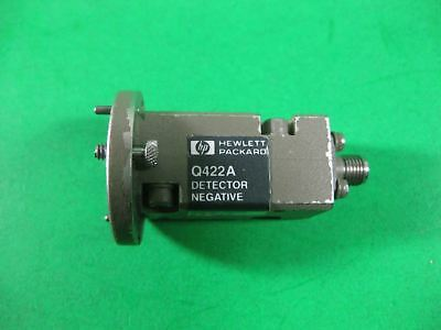 HP Waveguide Diode Detector -- Q422A -- Used