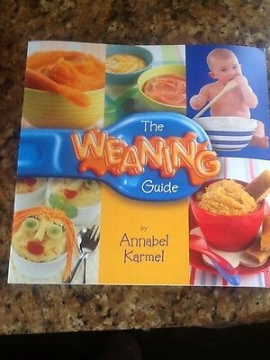 Annabel karmel weaning book'the weaning guide'