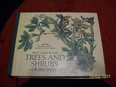 Field Guide to the Trees and Shrubs of Britain 1981 Reader's Digest