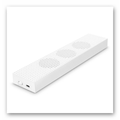 MoKo Xbox One S Cooling Fan, Built-in 3 High Speed Fans, 2-Port USB Charing And