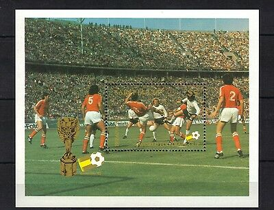 St Lucia. World Cup Spain 82  Mini Sheet 1982 Mnh