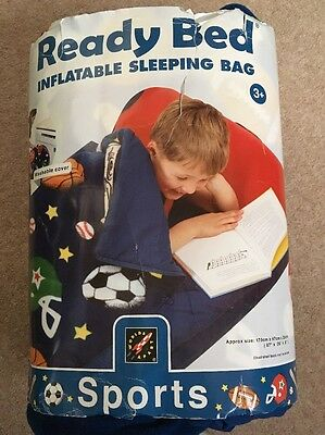 Sports Junior Ready Bed With pump Inflatable Sleeping Bag Great for camping