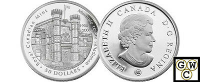 2008 Proof 5oz 100th Anniversary of the RCM $50 Silver Coin .9999Fine(12315)OOAK