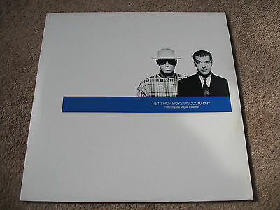 Pet Shop Boys Discography Double Lp Record Vinyl New Unplayed Very Rare