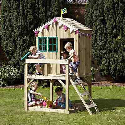 TP Wooden Forest Cottage Outdoor Playhouse/Wendyhouse New