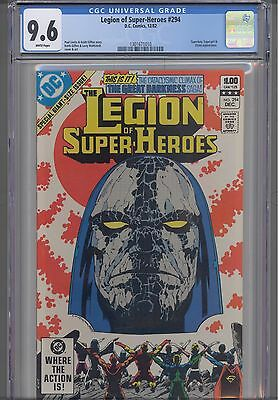 Legion of Super Heroes #294  CGC 9.6 1982 DC Comic:  Make an Offer! New Frame