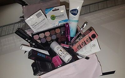 makeup/nails/skincare/haircare/self tan beauty box bundle benefit avon mua +more