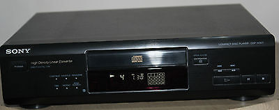 SONY CDP-M305 Stereo Compact Disc CD Player Hi-Fi Separate in Black