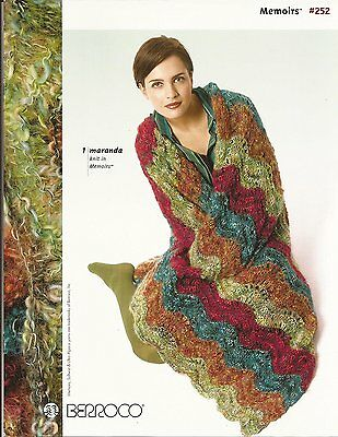 Berroco Knitting Pattern Book #252 Memoirs - 7 Designs for Women & Home