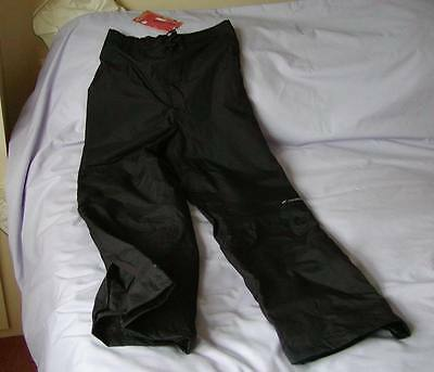 Mountain Life Rain Overtrousers - Black - 13/14 - new with tags