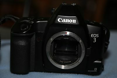 Canon EOS-3 35mm SLR Film Camera Body Only