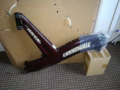 Cannondale Raven II frame - Red candy - Size L - Brand New - Non Recall