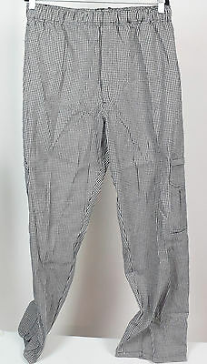Dickies Men's The Cargo Collection Chef Pant, Houndstooth, X-Large {NR6 XK-C