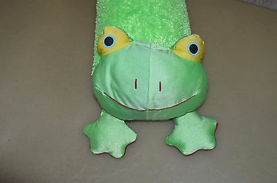 "18"" Frog Polystyrene Foam Beads Pillow"