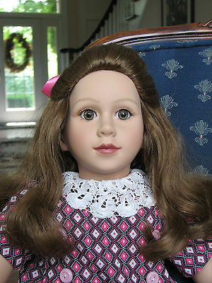 Vintage My Twinn Doll with Beautiful Handmade Dress 1996 - Excellent Condition