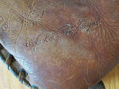 "Vintage - Harold ""Pie"" Traynor Baseball Glove / Mitt, Pittsburgh Pirates HOF"