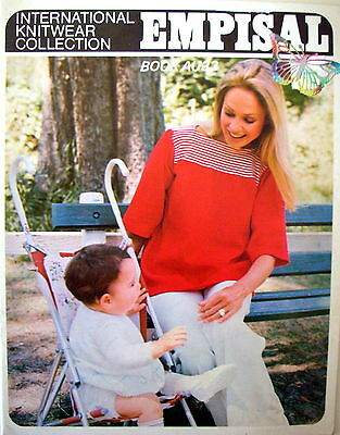 Empisal Knitting Machines Patterns Book AU33 - BABY & MATERNITY COLLECTION - VGC