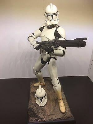 Sideshow Star Wars Exclusive Clone Trooper AOTC ROTS Premium Format 1/4 Statue