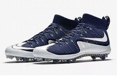 Nike Vapor Untouchable Football Cleats Navy White 698833-411 Size 11