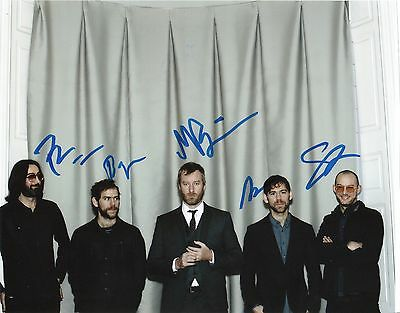 "The National Band Group Trouble Will Find Me  Signed Autographed 8x10"" Photo,,"
