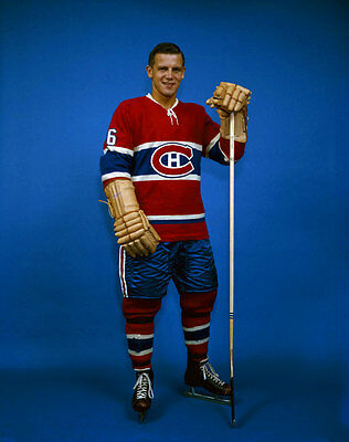 Ralph Backstrom Montreal Canadiens Unsigned 8x10 Photo