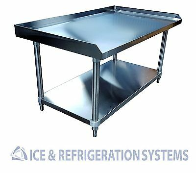 """Stainless Steel Commercial 48"""" Equipment Stand, Kitchen Storage Worktable SE2848"""