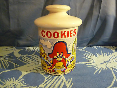 Vintage McCoy Pottery Warner Bros. Yosemite Sam Cookie Jar