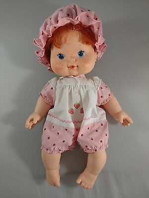 Vintage Strawberry Shortcake 1982 Blow Kiss Baby Doll Kenner American Greetings