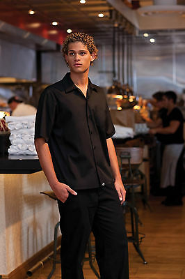 Chef Works Cool Vent Cook Shirt Cscv-Blk