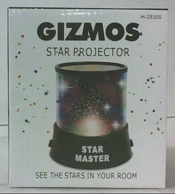 NEW Gizmos H-28305 Star Projector Multi Colour See The Stars in Your Room