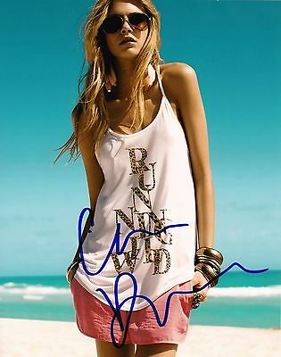 "CARA DELEVINGNE  Signed Autographed 8x10"" Photo"