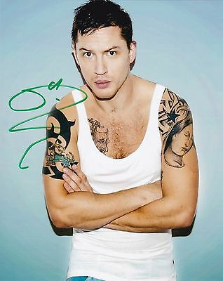 "THE DARK KNIGHT TOM HARDY,,,- Signed Autographed 8x10"" Photo"