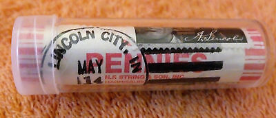 FIRST DAY STAMPED & CANCELLED * 2009 Lincoln  *  FORMATIVE  YEARS  *  Cent Roll