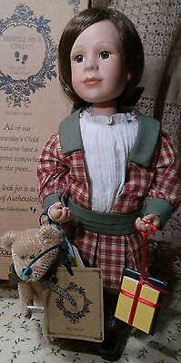"YESTERDAY'S CHILD Doll ""Miss Molly"" 12"" Porcelain"