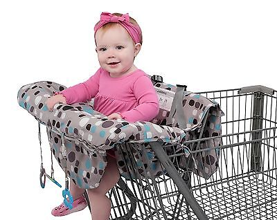 Babyezz 2-in-1 Shopping Cart & High Chair Cover for Baby- Machine Washable wi...