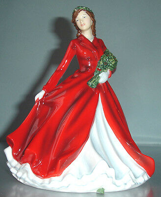 Royal Doulton DECK THE HALLS Ladies Songs of Christmas Figurine 5606 New