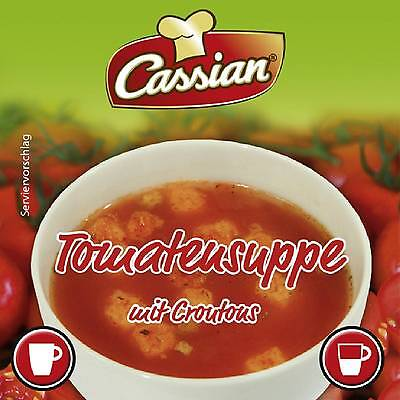 Wincup Tomatensuppe mit Croutons Incup 300 Automatenbecher á 12g