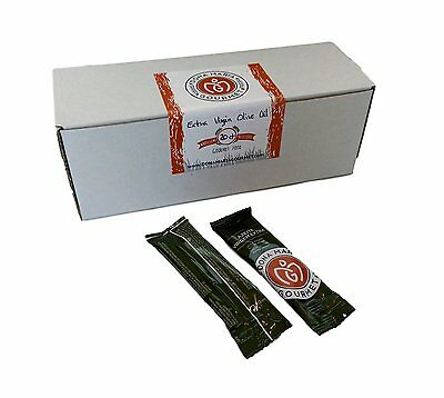 Extra Virgin Olive Oil Individual Sachets 20 Pack (10 ml each) Single Serve Dose