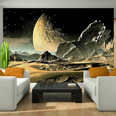 Huge Wallpaper mural for BOYS bedroom Space view Alien planets Giant photo wall