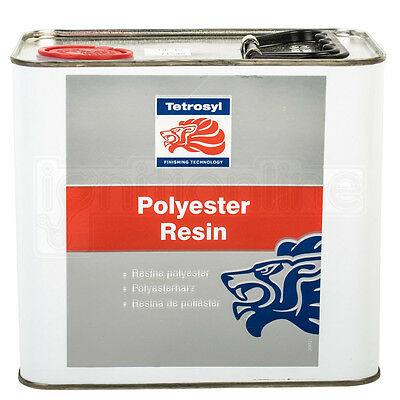 Tetrosyl Polyester Resin Multipurpose Controllable Resistant Adhesive 2.5 Litre